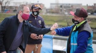 Sabbatella anunció un aumento para los cooperativistas de la Cuenca Matanza-Riachuelo