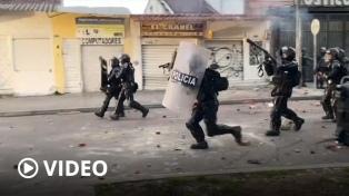 Diez muertos en Bogotá durante protestas contra un caso de violencia policial