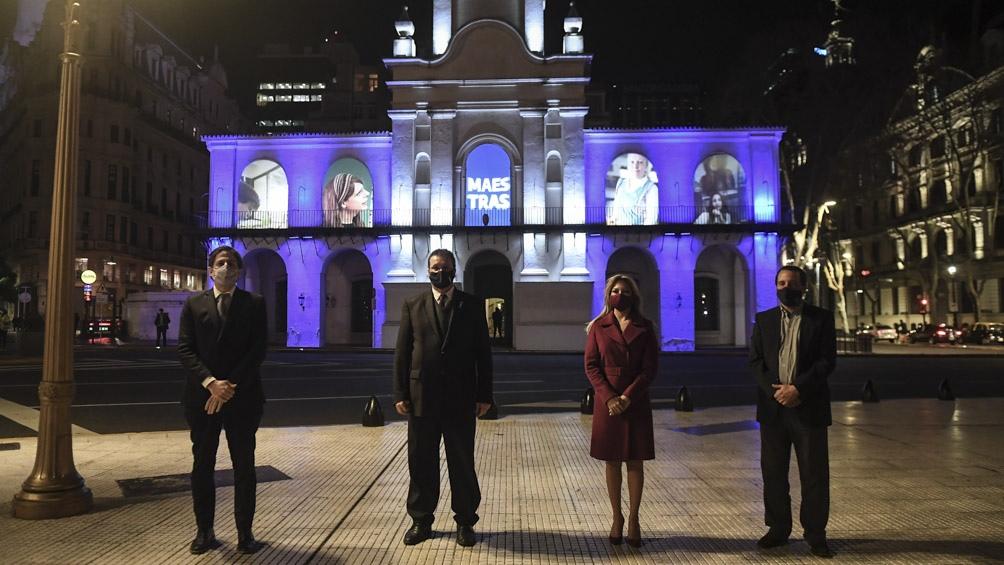 Fue organizado por los Ministerios de Educación y de Cultura, y participó la primera dama, Fabiola Yañez.