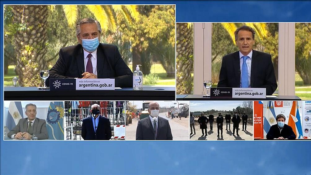 Katopodis se comunicó con los distintos gobernadores por videoconferencia.