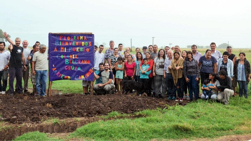 En Colonia Belgrano 20 familias lograron insertarse con el apoyo de la Fundación Es Vicis.