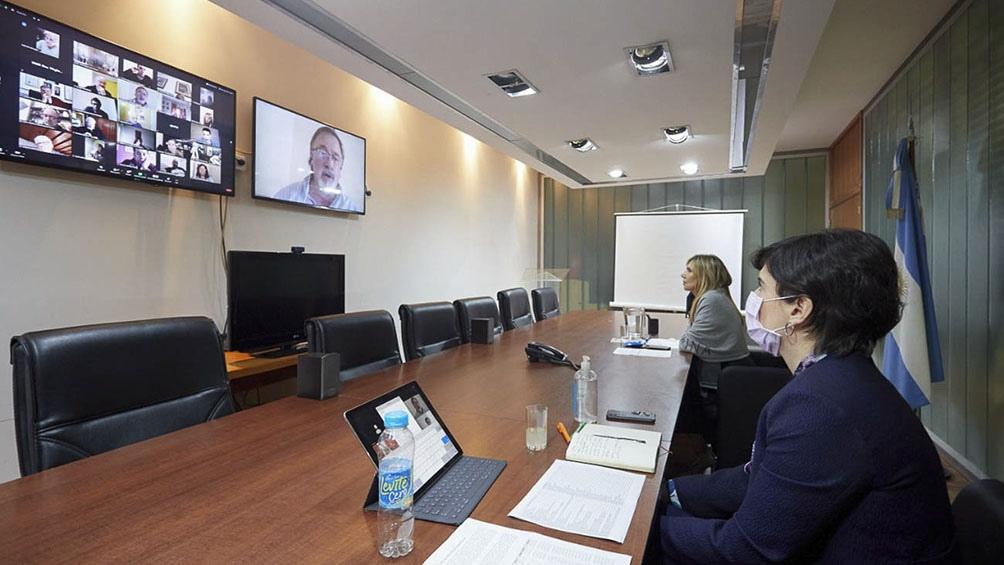 Reunión virtual con partidos políticos para considerar el proceso electoral de 2021