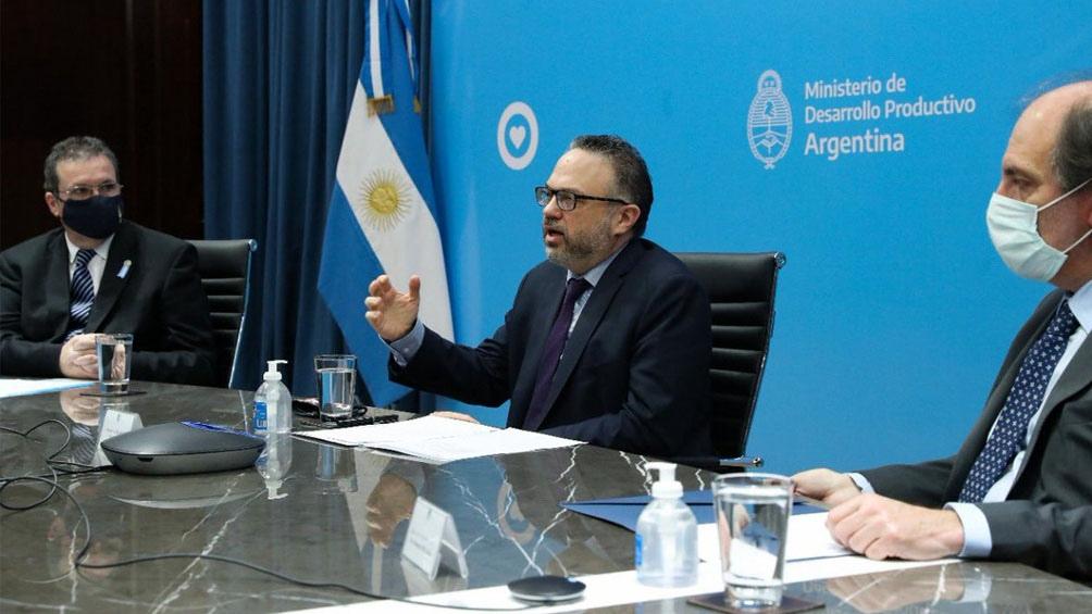 Los ministerios de Desarrollo Productivo y de Cultura junto al Banco Nación lanzaron créditos
