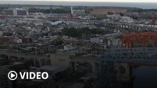 Tras 60 años, volvió a funcionar el transbordador Nicolás Avellaneda