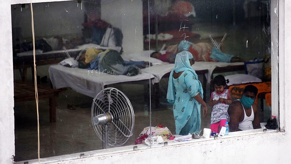 El número de fallecimientos en India alcanza los 77.472