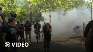 """Casi 200 detenidos en el regreso de los """"chalecos amarillos"""" a las calles francesas"""