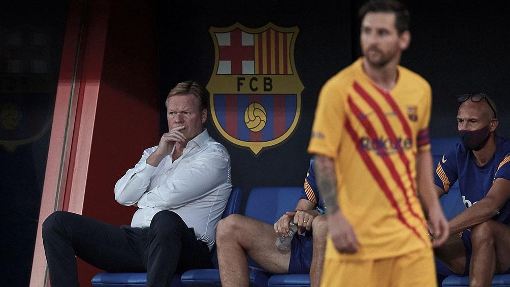 Messi volvió a España tras jugar dos partidos con la selección argentina