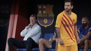 Messi podría ser suplente en Barcelona el sábado por la Liga española