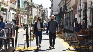 Rodríguez Larreta recorrió las nuevas áreas peatonales de San Telmo