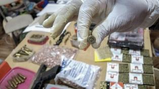 Santa Fe: más de mil armas y de 23 mil balas fueron secuestradas durante 2020