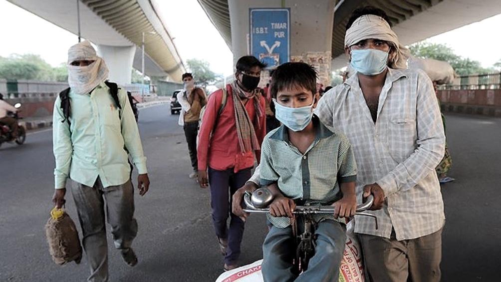 Con 156.000 muertos, India ocupa el cuarto lugar en la lista de países más golpeados desde el inicio de la pandemia.