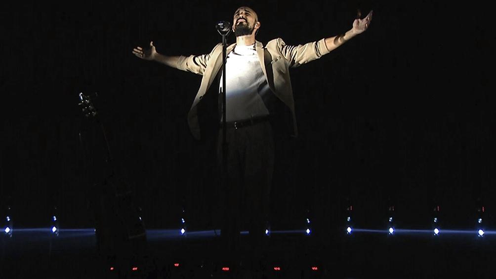 """El show hizo foco """"en la canción propiamente dicha y no en todo lo que pasa alrededor""""."""