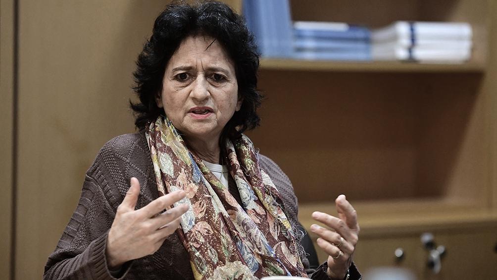 Betina Stein, directora del Banco Central.