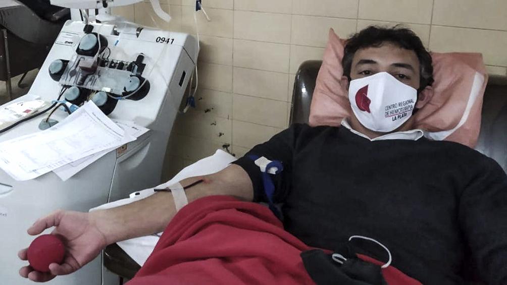 Por el aumento de casos, piden a los pacientes recuperados que donen su plasma