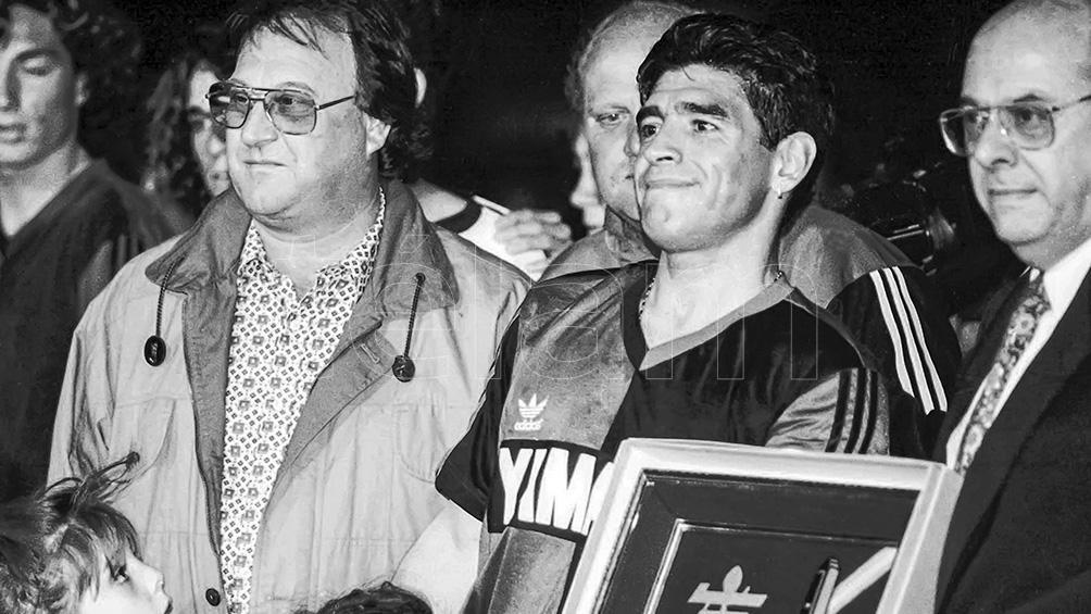 Maradona en Newell