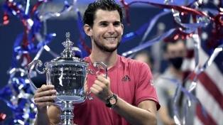 """""""Dediqué toda mi vida a ganar un Grand Slam"""", admite Thiem tras coronar el US Open"""