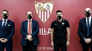 Marcos Acuña es nuevo jugador de Sevilla