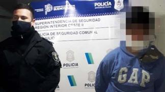Renzo Pancera (25) se encuentra detenido