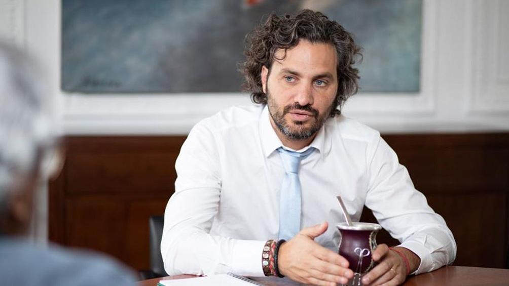 Santiago Cafiero manifestó sus críticas en las redes.
