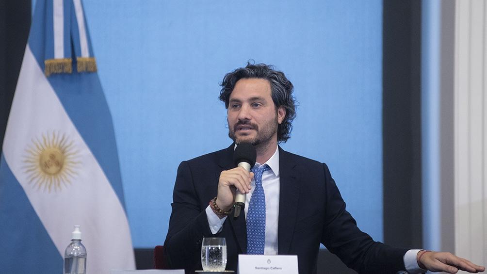 """""""Este planeta es el único que tenemos, no hay plan B"""", expresó el jefe de Gabinete, Santiago Cafiero."""