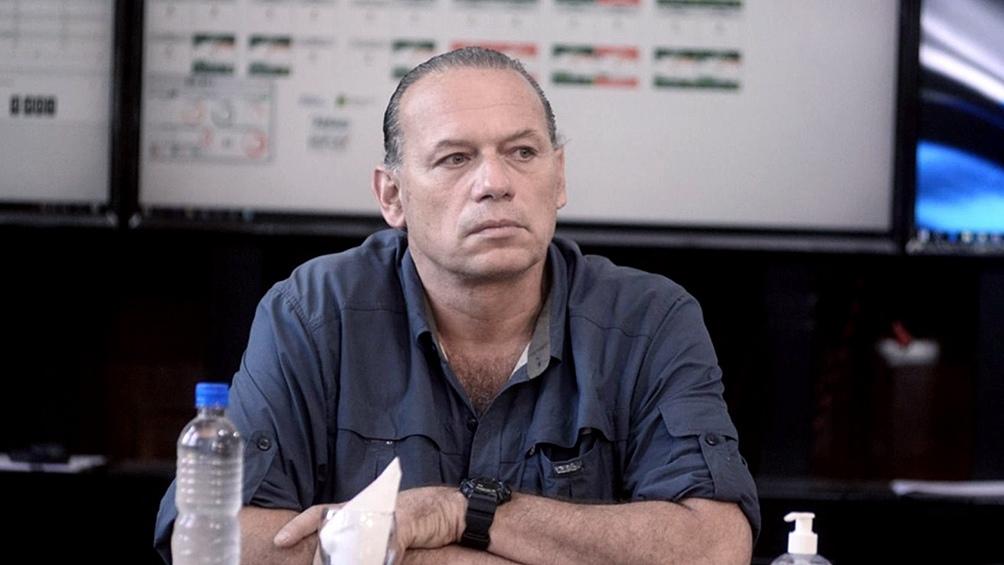 塞尔吉奥·伯尼(Sergio Berni)为使用Taser枪辩护。