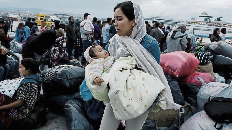 Inauguran el primer campamento para migrantes