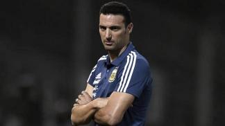 Lionel Scaloni dirigió en 21 partidos al seleccionado argentino.