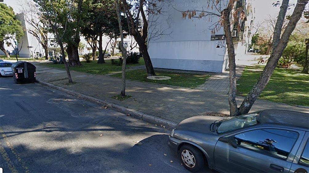 El cadáver fue arrojado a 200 metros de la avenida General Paz.