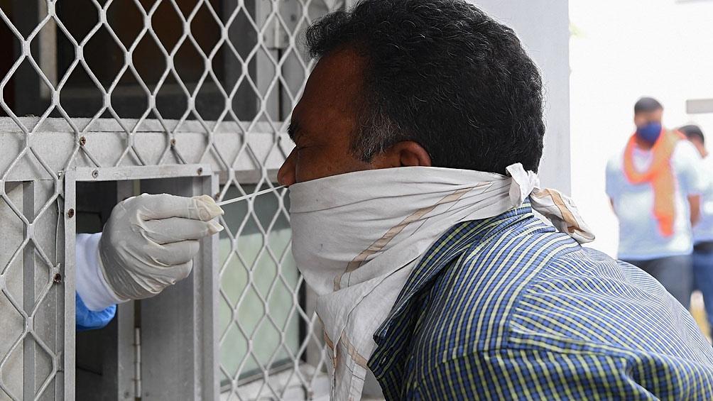 India efectúa cerca de 1 millón de pruebas de diagnóstico al día
