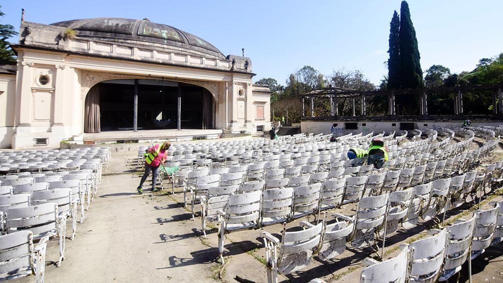 El emblemático Anfiteatro Martín Fierro de La Plata brindó su última función hace 8 años