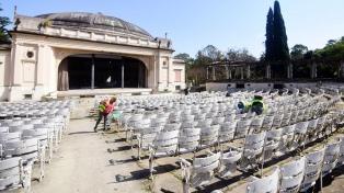 La Municipalidad de La Plata quiere abrir el Anfiteatro Martín Fierro antes de fin de año