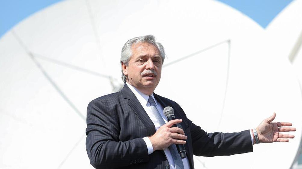 """Fernández encabezó la presentación del Plan Nacional de Conectividad """"Conectar"""", en la sede central de Arsat."""