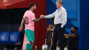 """Para el DT del Barcelona, """"Messi puede mejorar su rendimiento"""""""