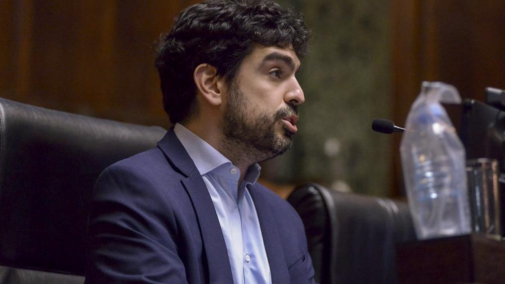 El legislador porteño del Frente de Todos Juan Manuel Valdés.