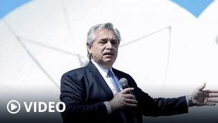 """""""Los dólares hacen falta para producir, no para guardar"""", dijo Fernández al lanzar plan Conectar"""