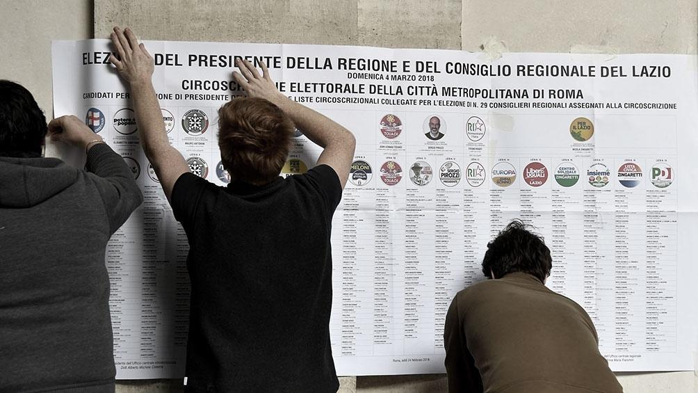 La normativa rige para las elecciones municipales del 3 y 4 de octubre, en las que más de 1.000 ciudades, incluidas la capital Roma y Milán.