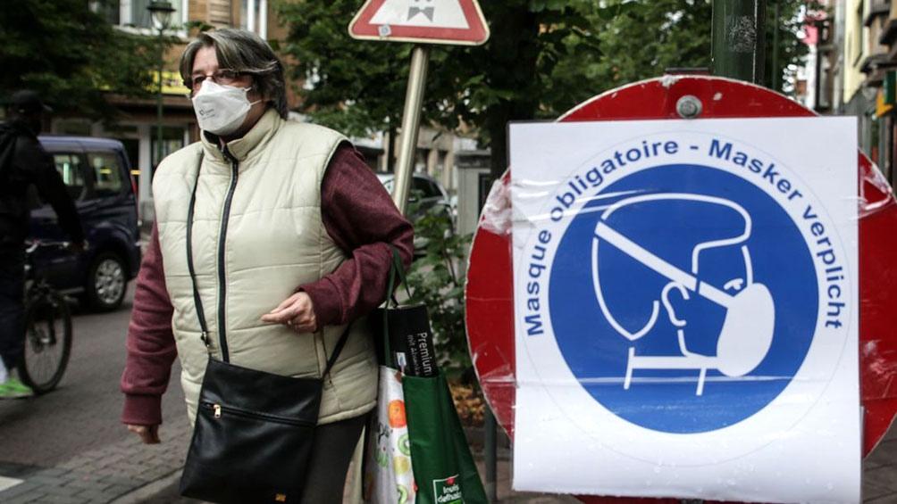Los contagios siguen en alza en varios países europeos