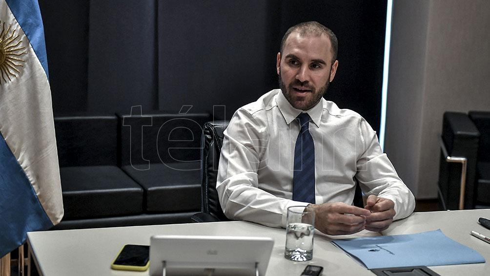 """""""La premisa es crecer para apuntalar la estabilización económica"""", expresó Martín Guzmán."""