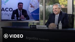 """Alberto Fernández: """"Se necesitan empresarios que confíen en el país después de cuatro años de postración"""""""