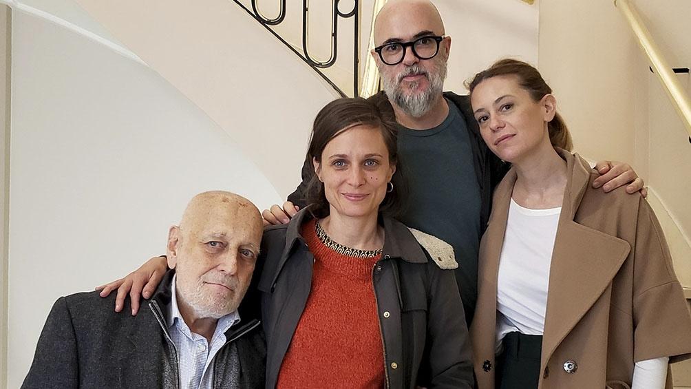 """Los cuatro directores de """"Edición limitada"""""""