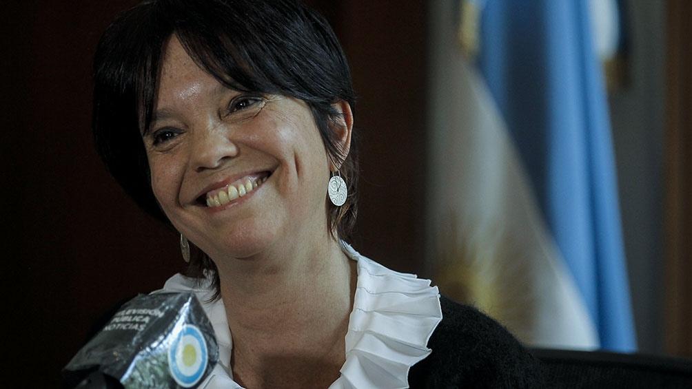 Mercedes Marcó del Pont firmó la reglamentación del Aporte Solidario y Extraordinario.