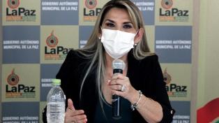 Áñez bajó su candidatura a la presidencia para evitar una posible victoria del MAS