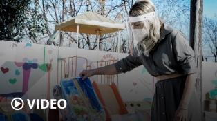 La Primera Dama recorrió un centro de desarrollo infantil en Luján