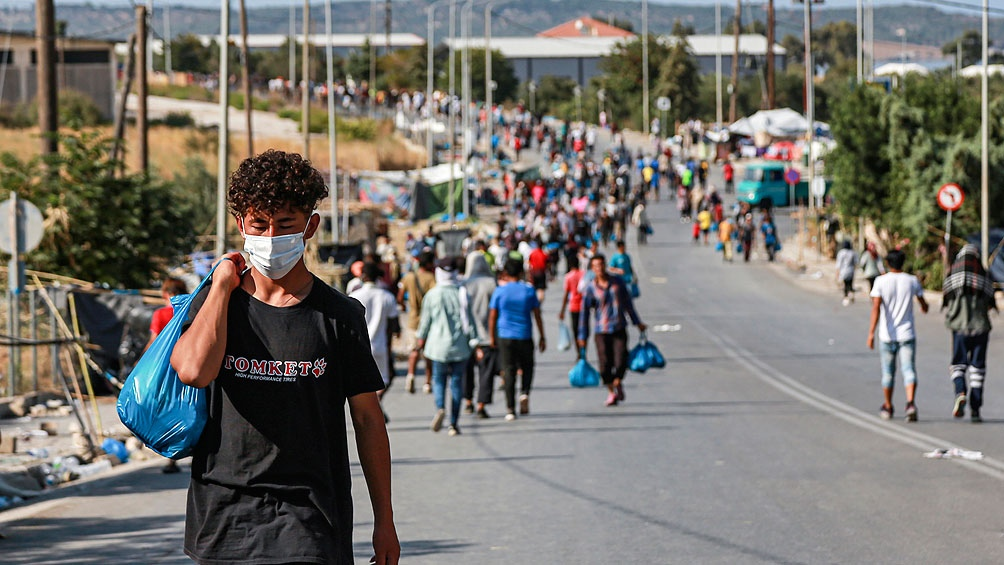 La operación policial para trasladar a los refugiados se desarrolló sin incidentes
