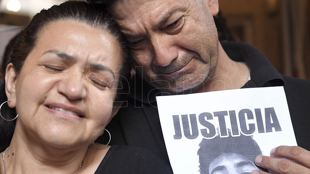 Graciela y Silvino, los padres de Fernando.