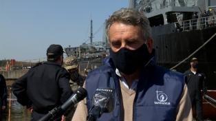 Rossi destacó Fondo para Defensa en el acto de entrega del buque ARA Canal Beagle, tras su reparación