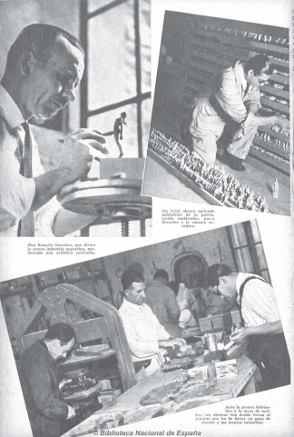 Rómulo Guerrico en Caras y Caretas.