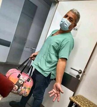 Carlos Amarilla, trabajaba en la guardia de admisión del hospital Lucio Meléndez de Adrogué.
