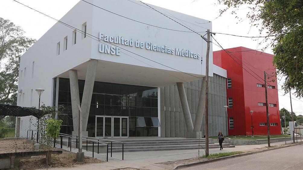 Facultad de Ciencias Médicas de la Universidad Nacional de Santiago del Estero.