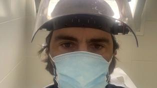 Es terapista en Buenos Aires, tuvo dos veces coronavirus y brinda asistencia en Río Negro
